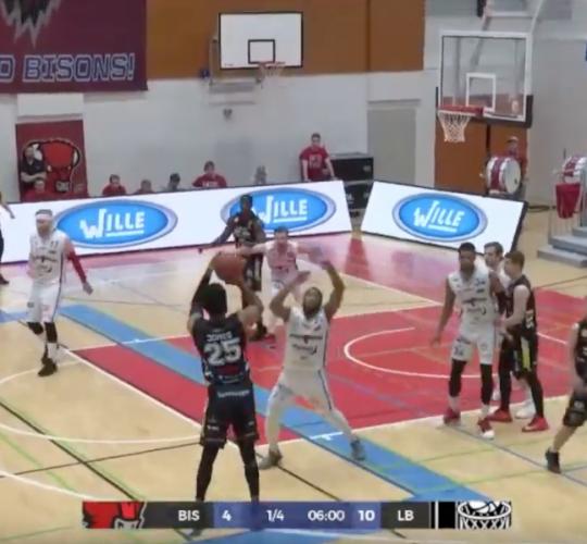 Bisons vs. Lahti Basketball Finaali 2. 18.4.2019